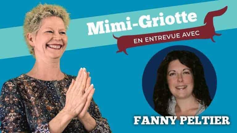 Image de présentation de l'entrevue avec Fanny Peltier