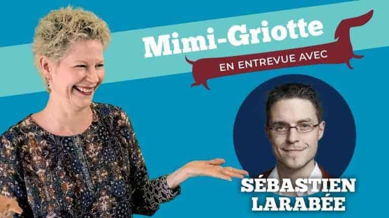 Image de présentation de l'entrevue avec Sébastien Larabée