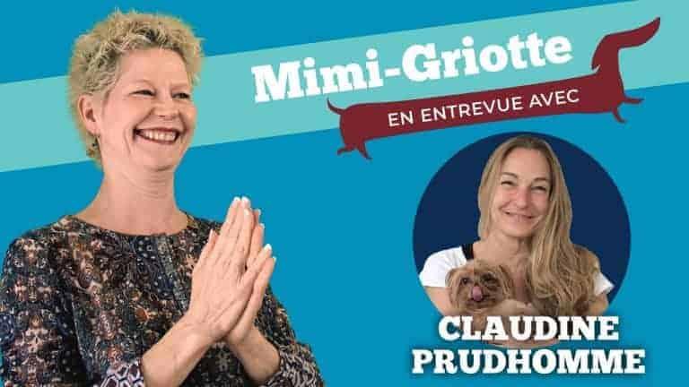 Image de présentation de l'entrevue avec Claudine Prudhomme