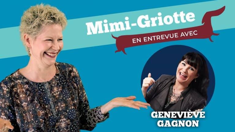 Mimi Griotte avec Geneviève Gagnon