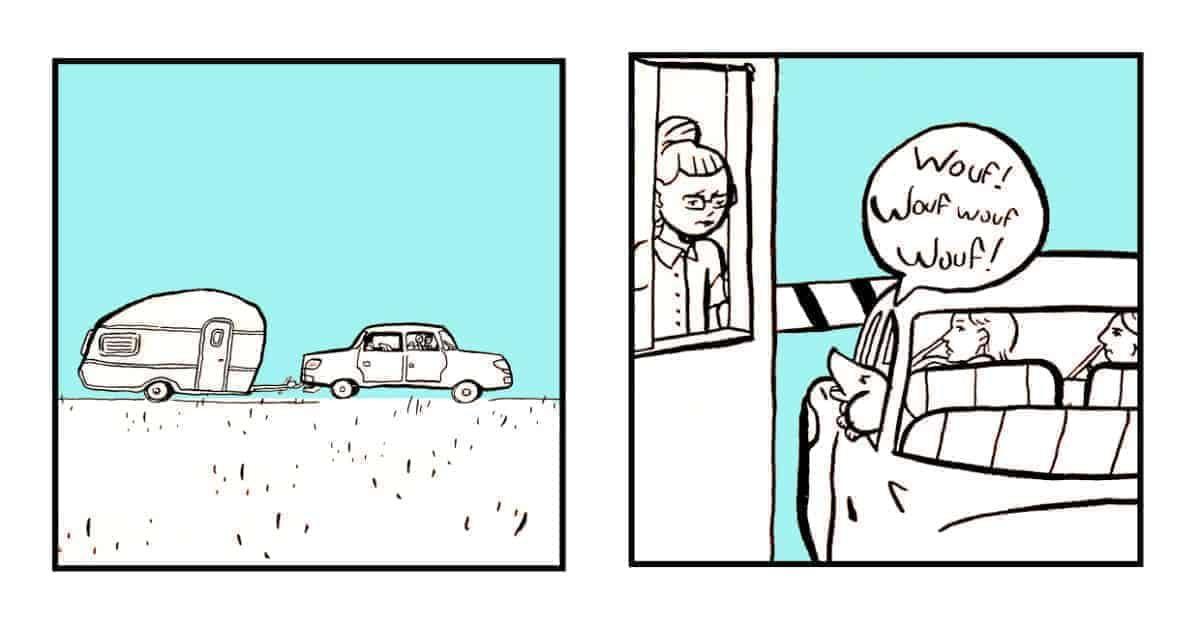 Griotte en vacances